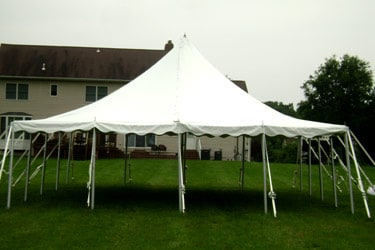 30x30 Pole Tent & Party Tent Rentals Wedding Tent Rentals MD VA DC | A Grand Event
