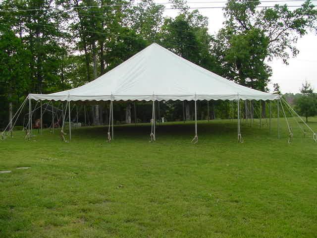 40x40 Pole Tent & Party Tent Rentals Wedding Tent Rentals MD VA DC | A Grand Event