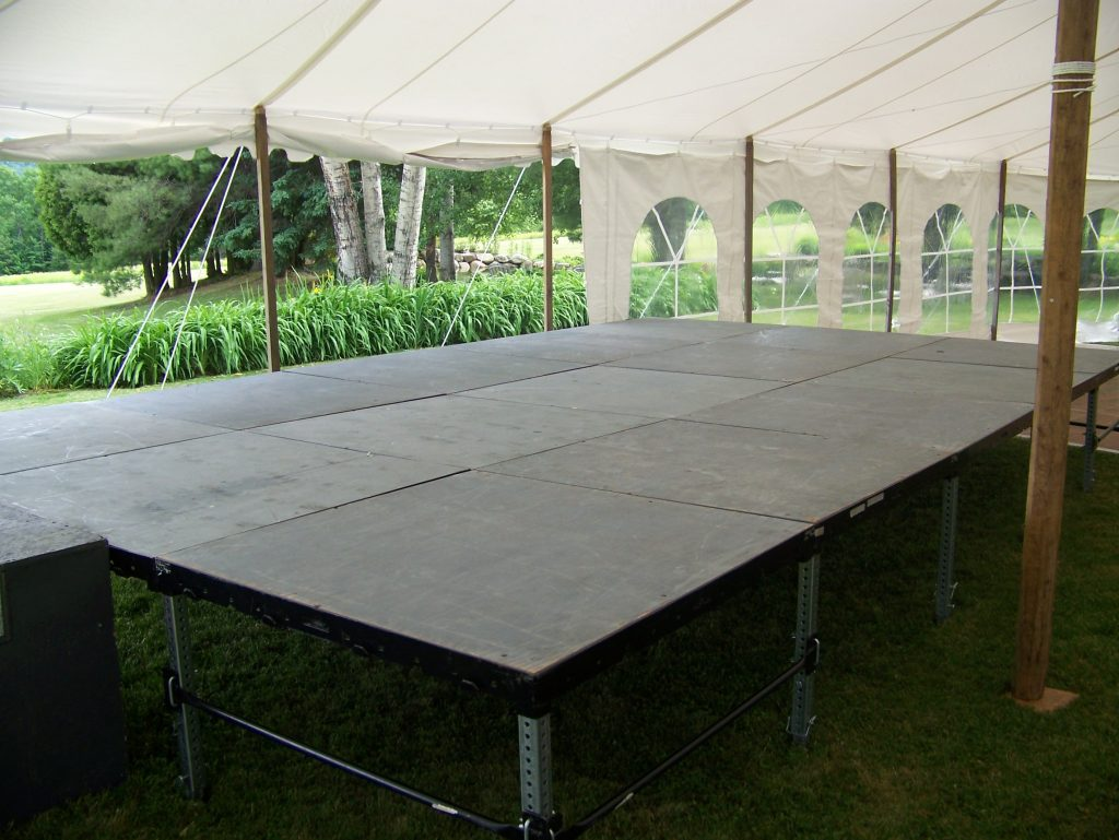 Dance floor rentals event stage rental wedding dance floor 4x4 staging available in 8 junglespirit Choice Image