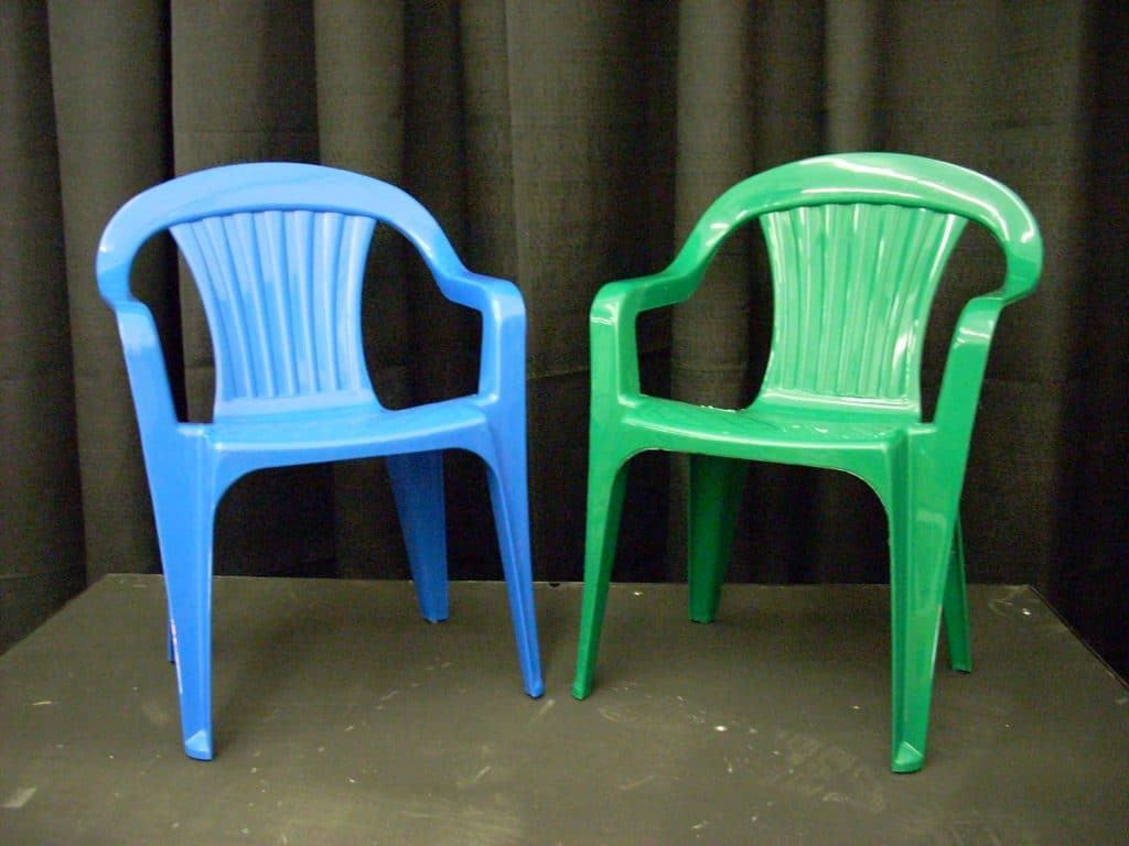 Superbe Blue And Green Kids Chairs