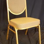 Gold Banquet Stacking Chair