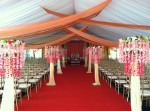 Specialty Draping for Tents
