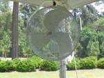 Tent Pole Fan