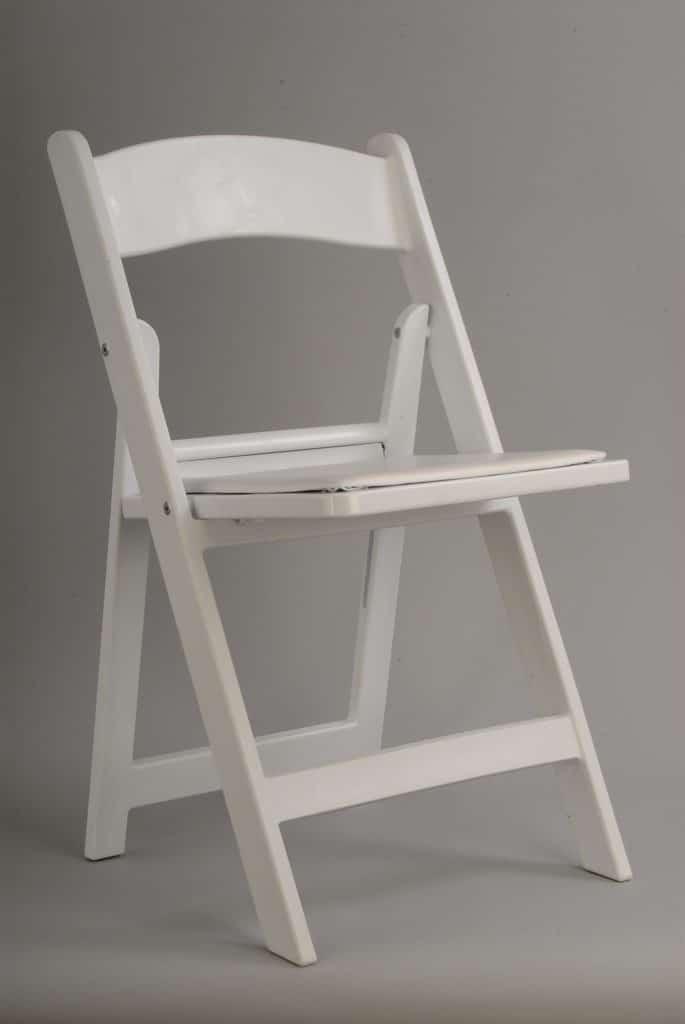 White Resin Folding