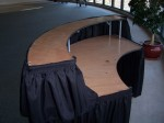 7' Serpentine Bar (Skirts Included)
