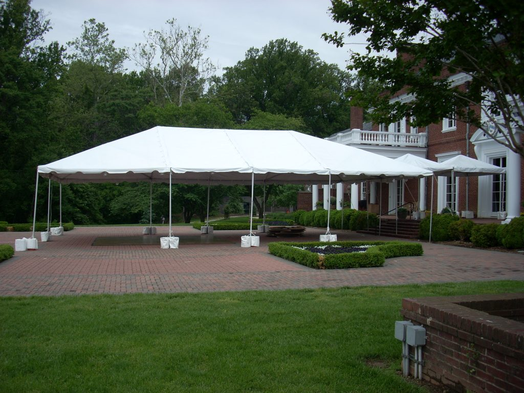 Exterior of Frame Tent : backyard tent wedding - memphite.com