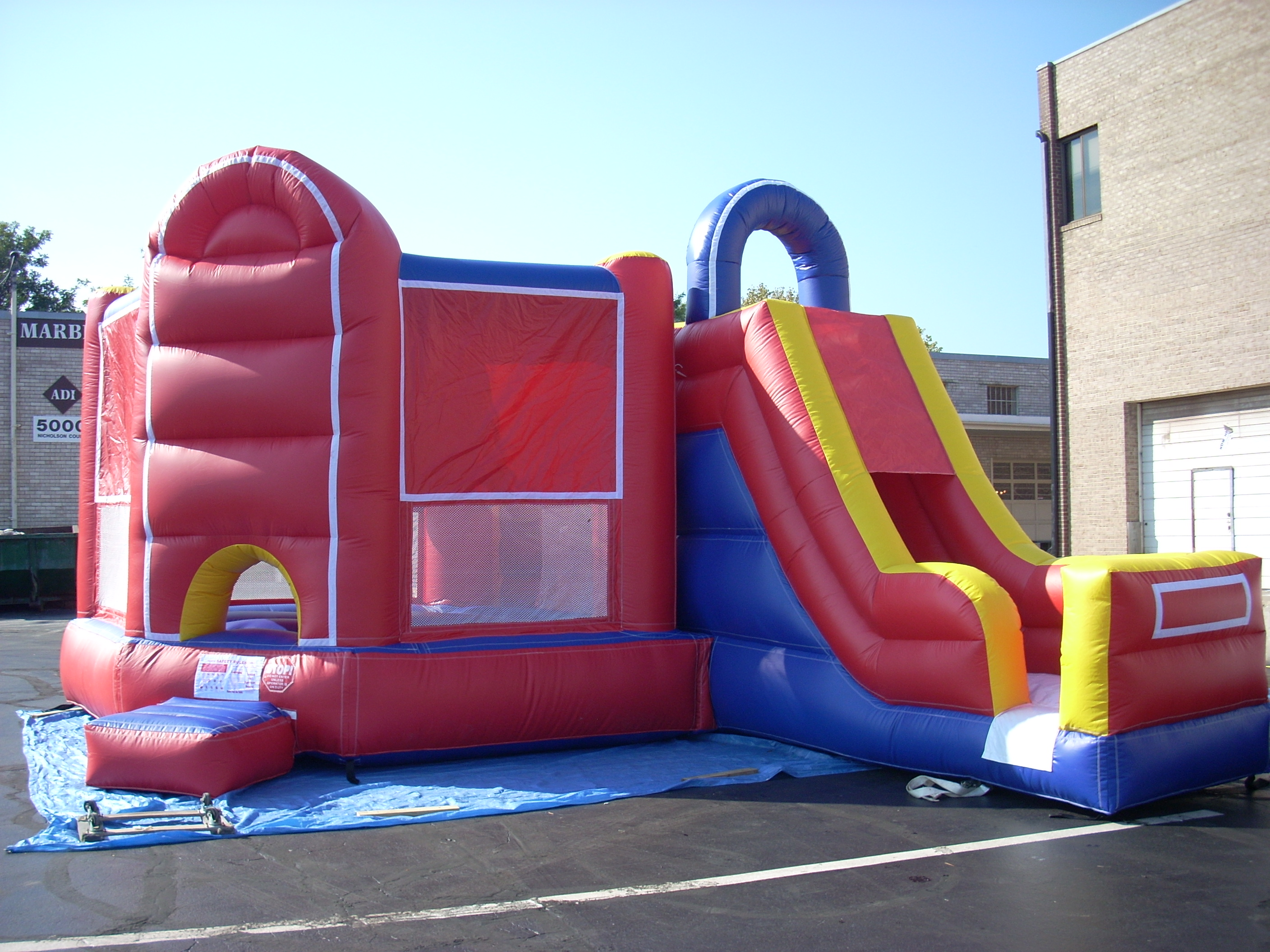 Inflatable Moon Bounce A Grand Event
