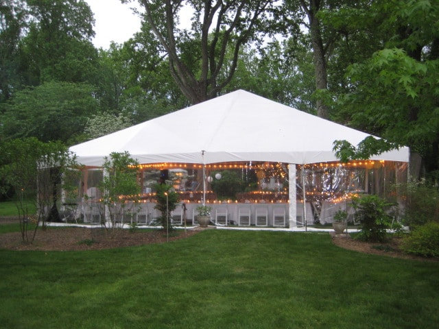 tent package:select from any sized tent and arrange the dance floor, pillars, and arches