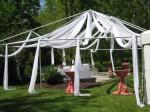 Custom Tent Draping