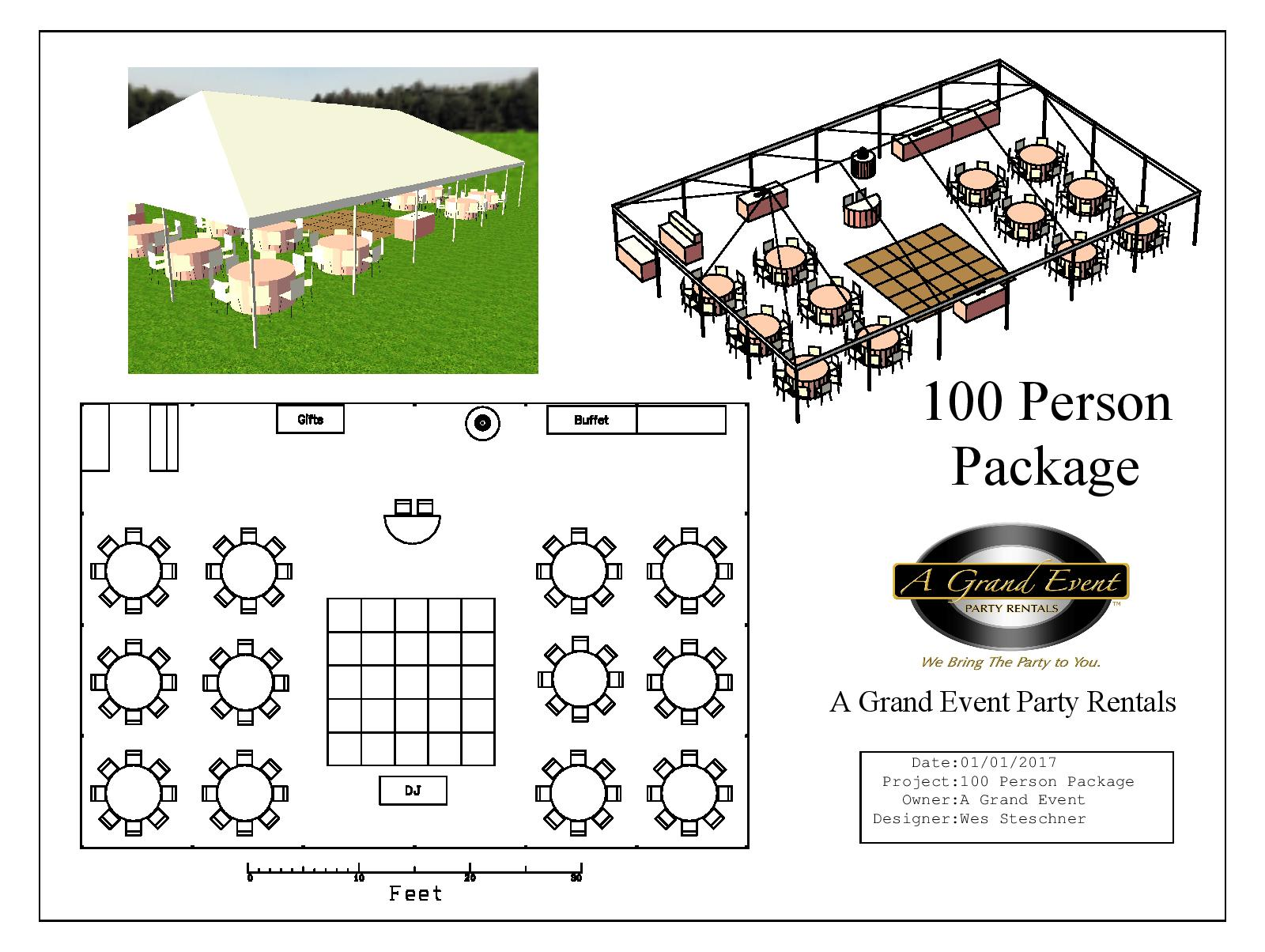 100 Person Package