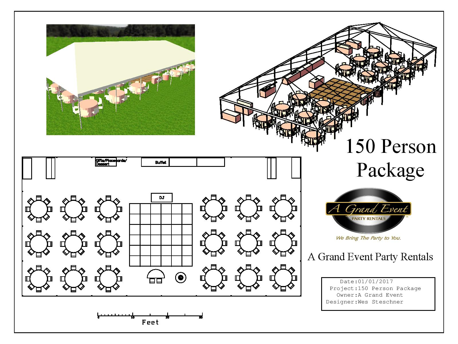 150 Person Package