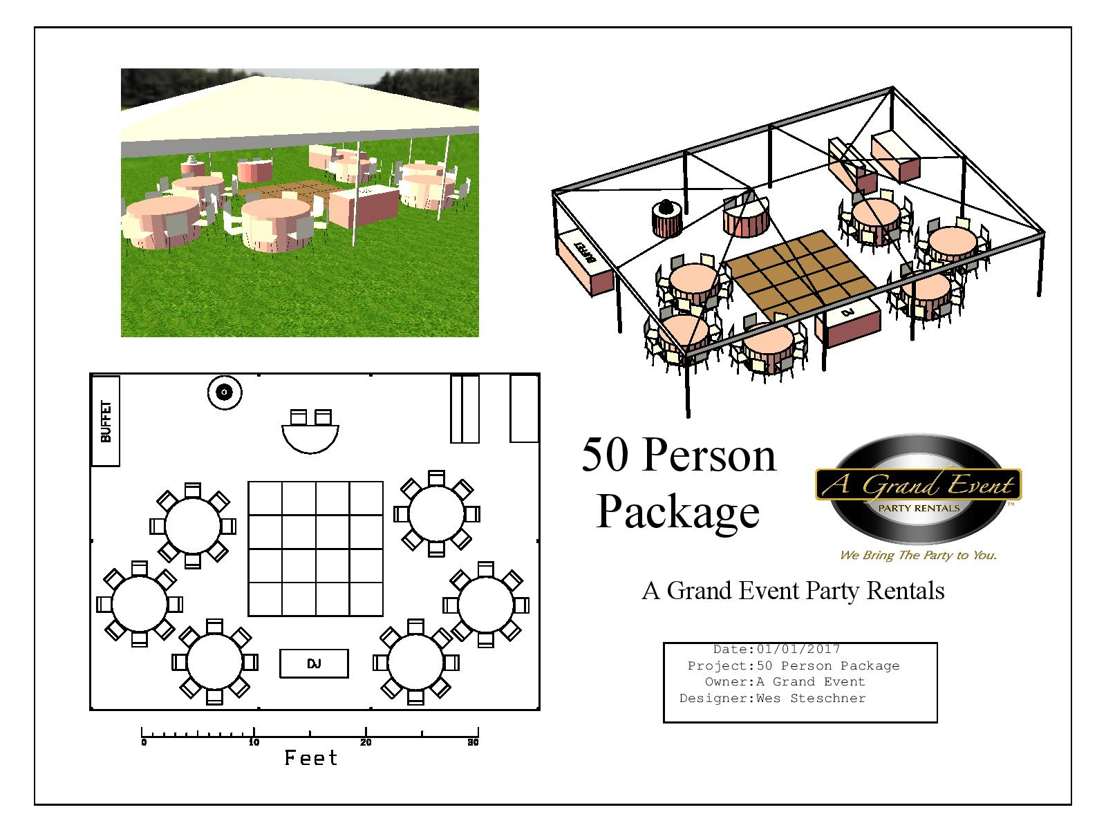 50 Person Package