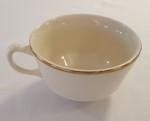 Ivory Gold Band Cup